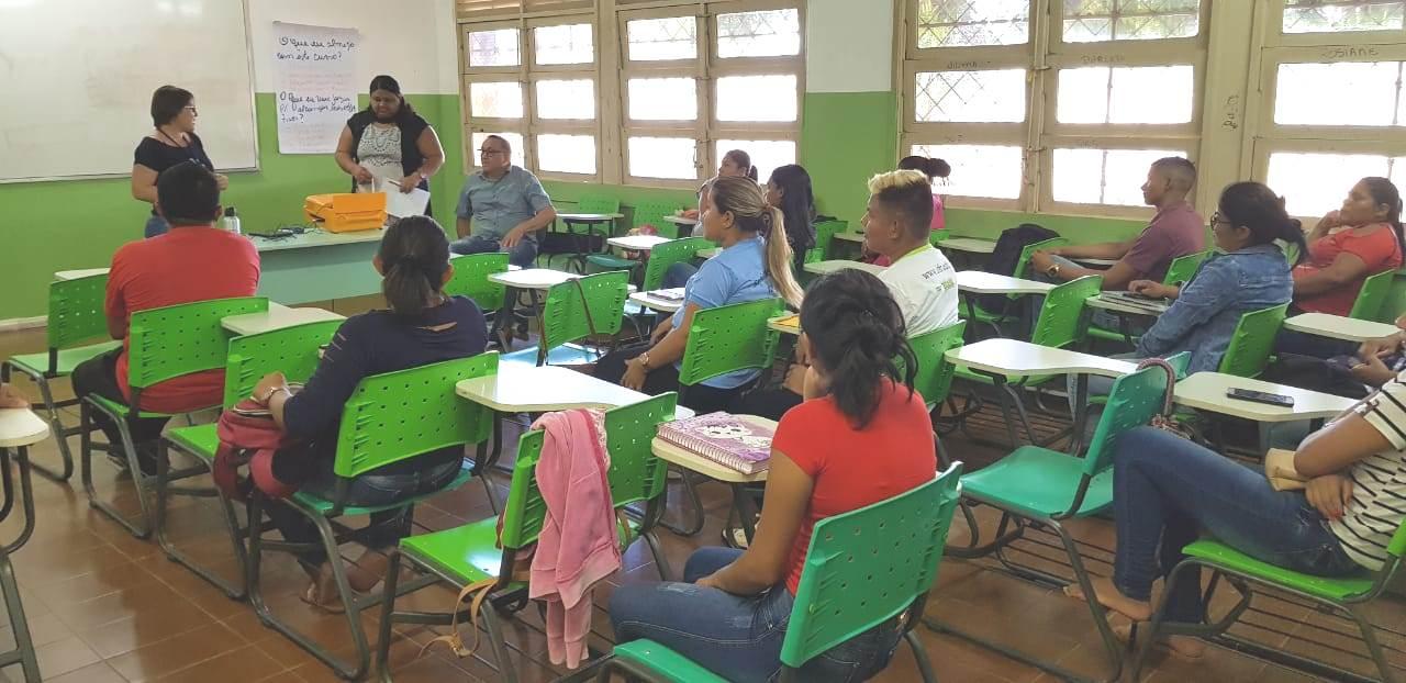 Aulas do curso FIC em Auxiliar de Secretaria Escolar começaram nesta segunda-feira, 29