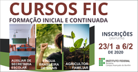 Campus Avançado Bonfim oferta mais de 100 vagas em cursos FIC