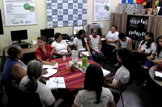 Equipe do CAB realiza visita técnica à Incubadora Tecnológica de Cooperativas Populares e Empreendimentos Solidários da UFRR