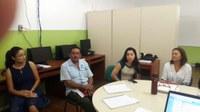 Governador da Região 9 da República Cooperativista da Guiana visita o Campus Avançado do Bonfim
