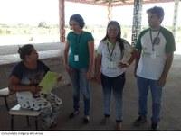 Campus Avançado do Bonfim realiza divulgação de processo seletivo em comunidades indígenas e vilas do município