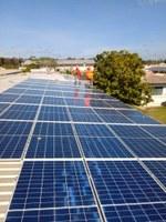 Mais 264 placas de energia solar são instaladas em campus do IFRR